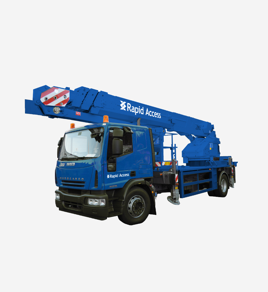 34m Truck mounted boom