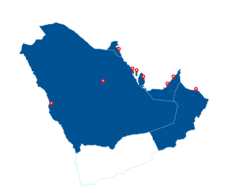Map-Regional-Coverage-across-GCC-Map